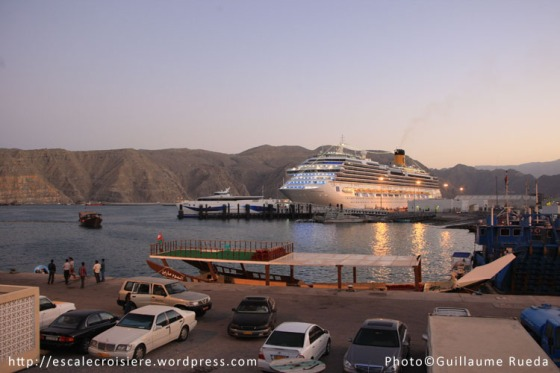 Oman - Port de Khasab - Costa Favolosa