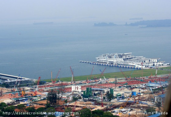 Singapour - Gare maritime de Marina Bay