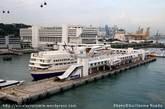 Singapour - Terminal Croisière de Vivo City