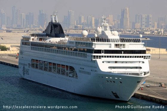 MSC Lirica - Dubaï