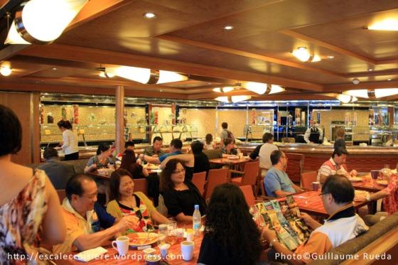 Costa Favolosa - buffet