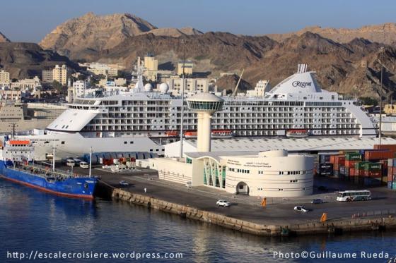 Mascate - Gare maritime - Port Sultan Qaboos