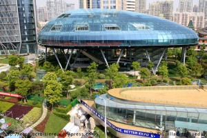 Gare maritime de Shanghai -International Cruise Terminal - 25 avril 2009