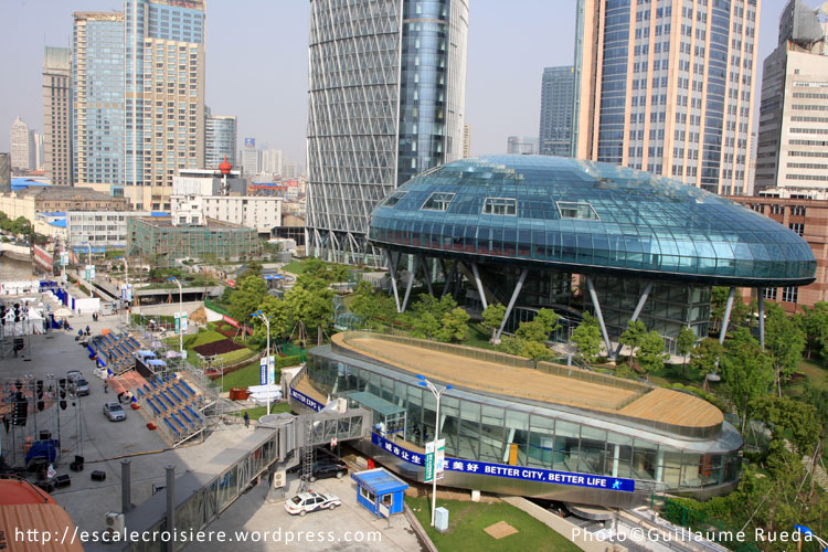 Gare maritime de Shanghai - International Cruise Terminal - 25 avril 2009