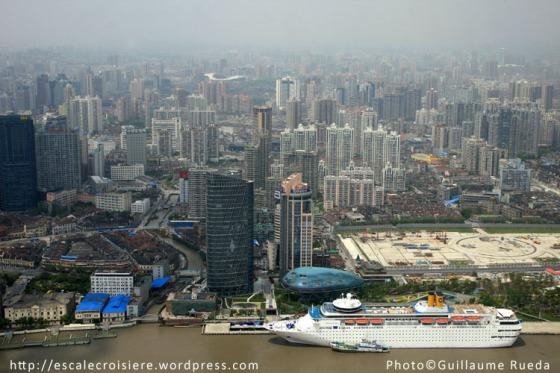 Gare maritime de Shanghai - Costa Classica - 25 avril 2009