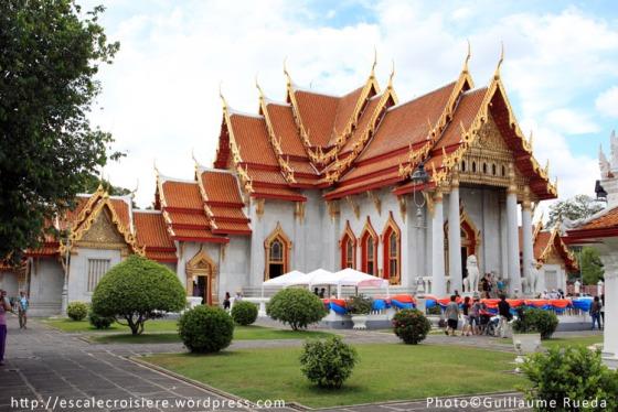 Wat Benchamabophit - Bangkok - 5 mai 2012