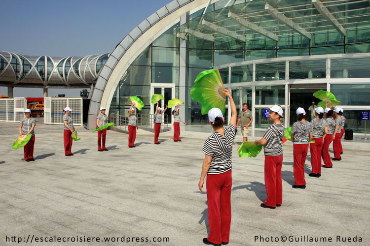 Shanghai - Gare maritime - Wusongkou International Cruise Terminal 17 mai 2012