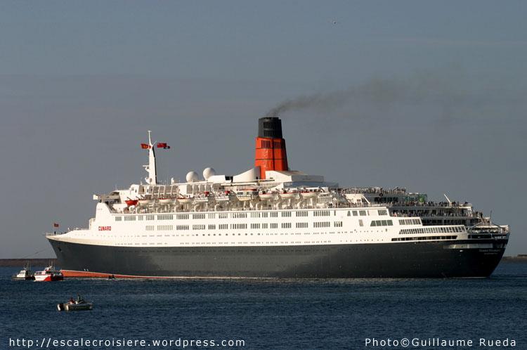 Queen Elizabeth 2 Cherbourg