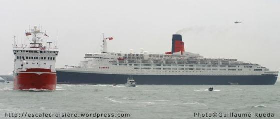 Queen Elizabeth 2 - IFR - 28 juin 2005 - Solent