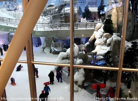 Ski Dubaï au Mall of The Emirates