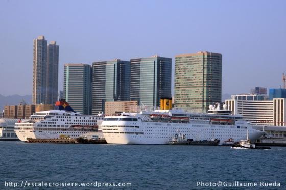 Costa Classica - Escale à Hong Kong