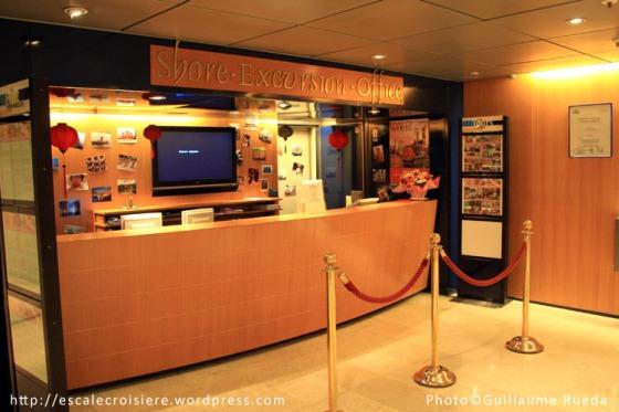 Costa Classica - Bureau des excursions