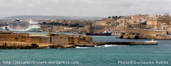 Arrivée La Valette - Malte