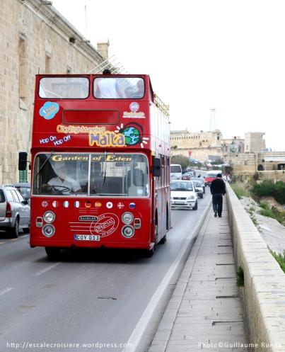 Bus City Sightseeing - La Valette - Malte
