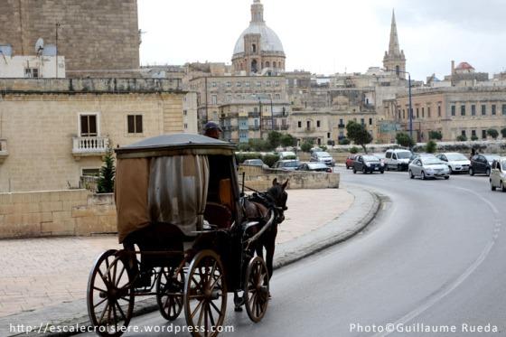 Calèche - La Valette - Malte