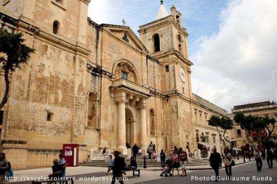 Cathédrale Saint Jean La Valette - Malte