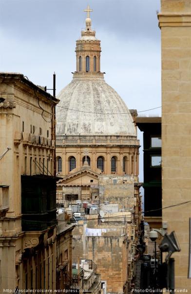 Cathédrale St Paul La Valette - Malte