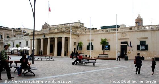 Palais des grands maîtres La Valette - Malte