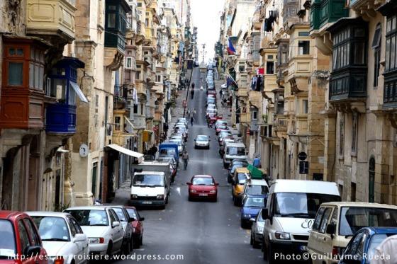 Republic street La Valette - Malte