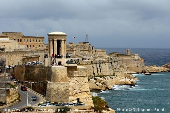 Siege Bell Memorial - La Valette - Malte