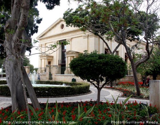 Upper Barrakka gardens - La Valette - Malte