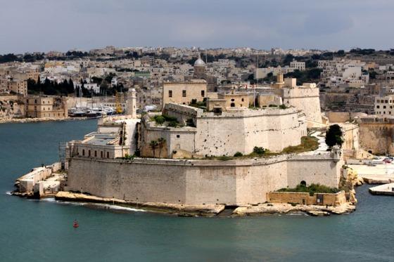 Fort Saint Ange La Valette - Malte