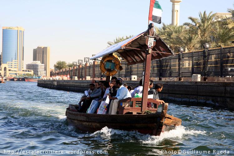 Abra sur la Creek de Dubaï