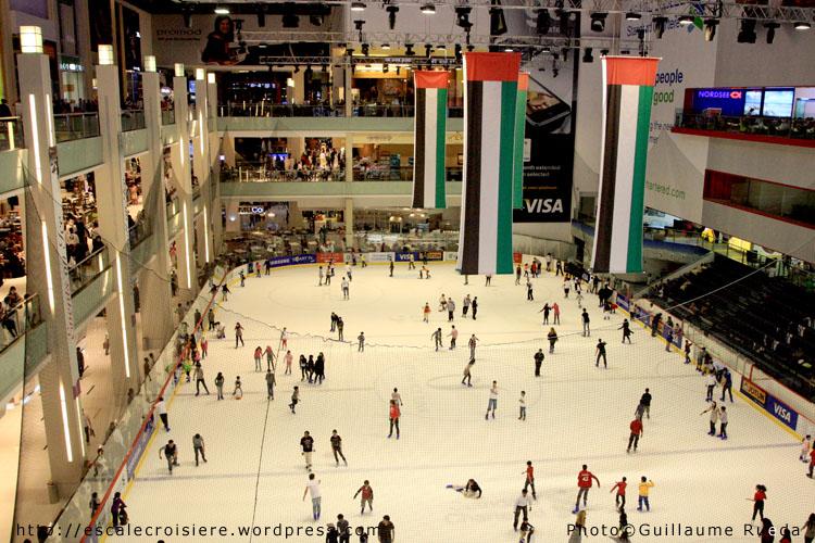 Patinoire du Dubaï mall