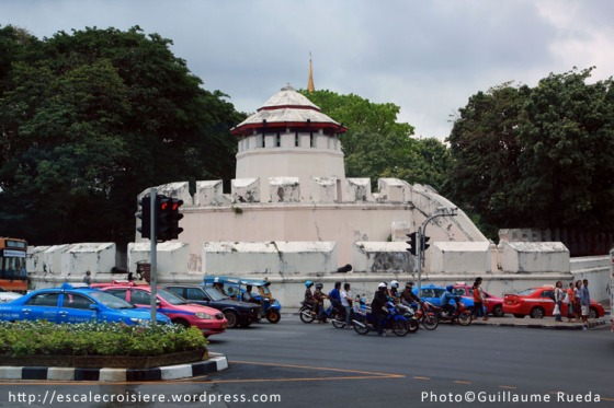 Les anciennes fortifications de la ville - Bangkok