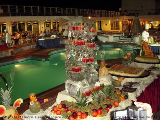 Buffet nocturne Costa Victoria