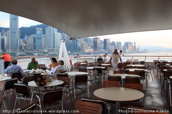 Buffet Pont arrière Costa Victoria - Hong Kong
