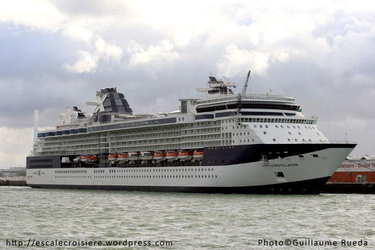 Le Havre - Terminal croisière Celebrity Constellation - 4 novembre 2012