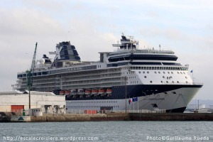 Le Havre - Terminal croisière Celebrity Constellation - 19 novembre 2012