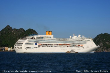 Costa Victoria Baie d'Halong 10/05/2012