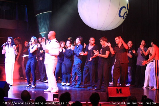 Salle spectacle Costa Victoria