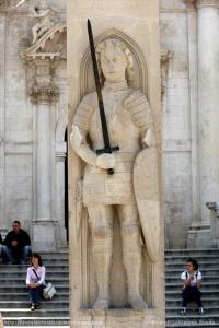 Dubrovnik - colonne de Roland
