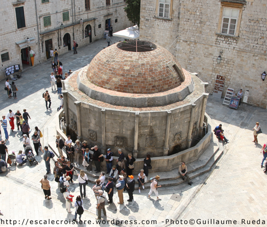 Dubrovnik - Fontaine Onofrio