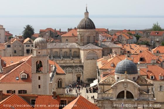 Dubrovnik - Tour de l'Horloge - Cathédrale de l'Assomption