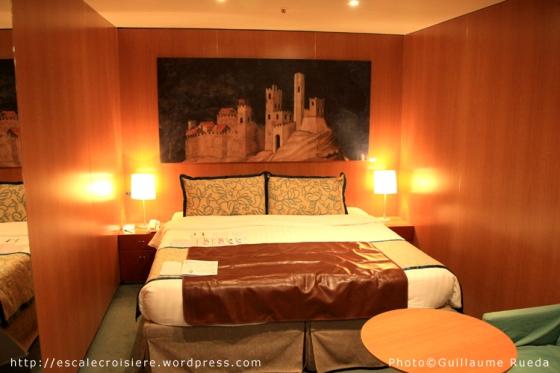 Costa Romantica - Cabine intérieure