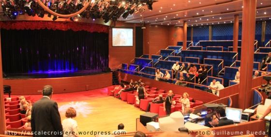 Costa Romantica - Salle de spectacles