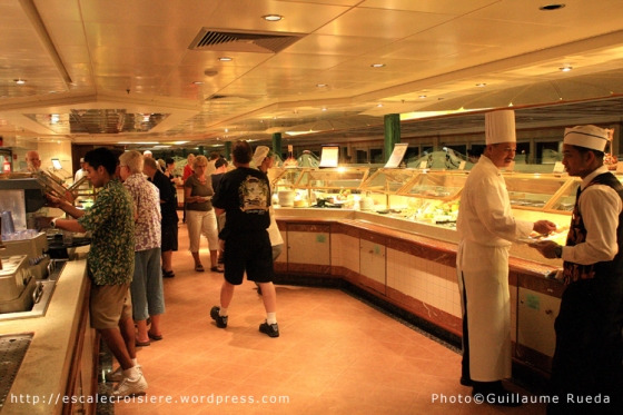 Island Princess Buffet