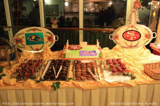 Buffet du superbowl