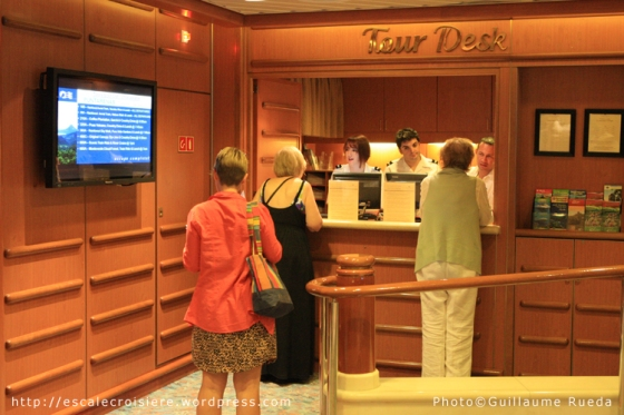 Island Princess - Bureau des Excursions