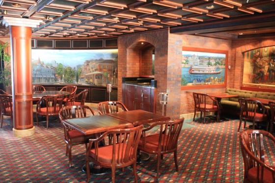 Island Princess - Restaurant Bayou Café