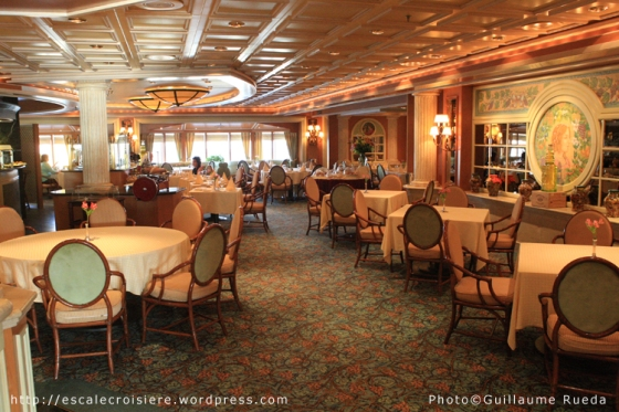 Island Princess - Restaurant