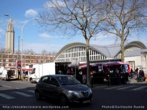 Le Havre - marché place des Halles