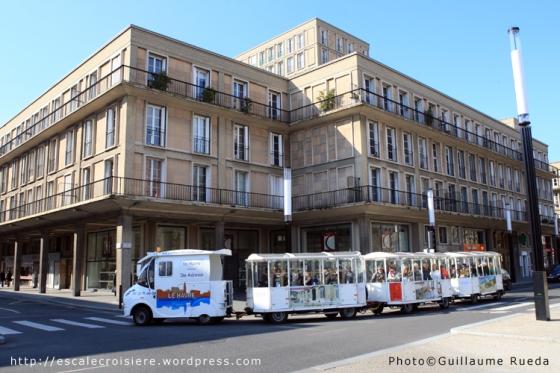 Le Havre - Petit train touristique
