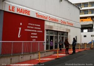 Le Havre - Terminal Croisière - Accueil