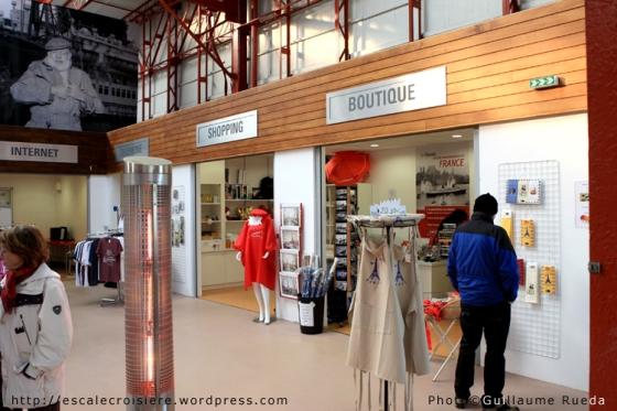 Le Havre - Terminal Croisière - Boutique