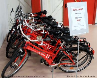 Le Havre - Terminal Croisière - Location de vélos